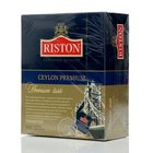 Чай черный Цейлонский Premium English Tea ТМ Riston (Ристон), 100 пакетиков