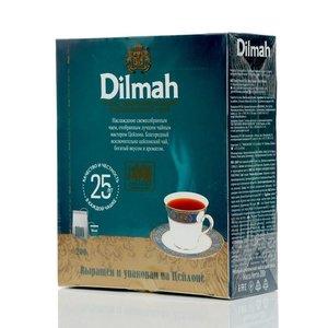 Чай черный оригинальный ТМ Dilmah (Дилма), 100 пакетиков
