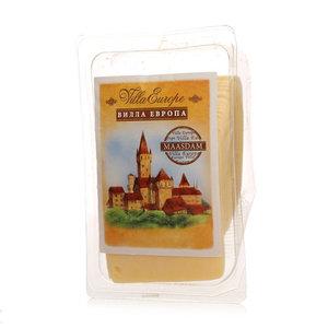Сыр Маасдам 45% в нарезке ТМ Villa Europa (Вилла Европа)