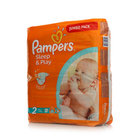 Подгузники Pampers Sleep & Play 3 -6 кг ТМ Pampers (Памперс), 88 шт
