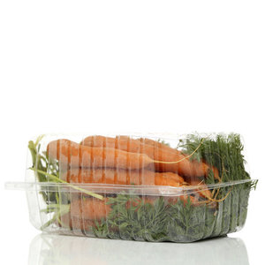 Морковь с ботвой