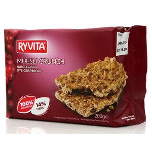 """Хлебцы из цельного зерна ТМ Ryvita (Рувита) со смородиной """"muesli crunch"""""""