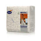 Салфетки бумажные Sarala White 40х40см ТМ Dunilin (Дюнилин), 50 шт
