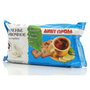Печенье сливочное на сорбите ТМ Петродиет