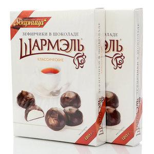 Зефир в шоколаде классический, 2*120г ТМ Шармэль