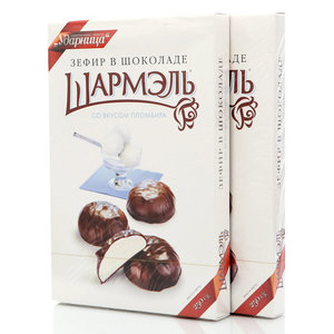 Зефир в шоколаде со вкусом пломбира, 2*250г ТМ Шармэль