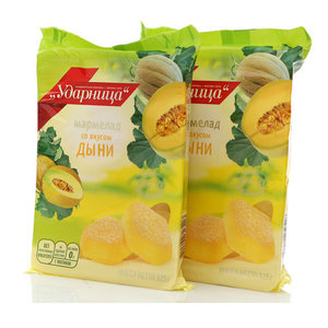 Мармелад со вкусом дыни, 2*325г ТМ Ударница
