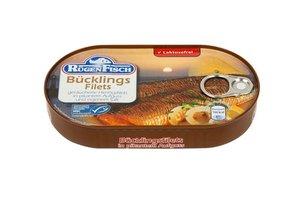 Филе копченой сельди в растительном масле и собственном соку ТМ Rugen Fisch (Руген Фиш)