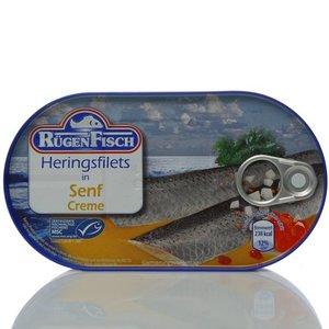 Филе сельди в горчичном соусе ТМ Rugen Fisch (Руген Фиш)