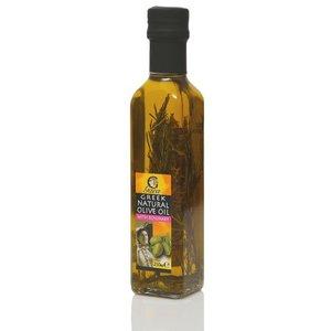 Оливковое масло нерафинированое экстра вирджин с розмарином ТМ Gaea (Гаеа)