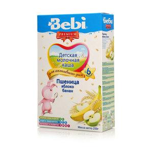 Каша молочная пшеница ТМ Bebi (Бэби)