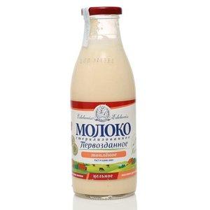 Молоко топлёное стерилизованное 3,5-4,5% ТМ Edelweiss (Эдельвейс)