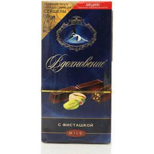 Шоколад темный с фисташкой тм Вдохновение