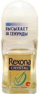 Шариковый антиперспирант TM Rexona (ТМ Рексона) кристал аква
