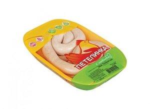 Колбаски с сыром охлажденные ТМ Петелинка