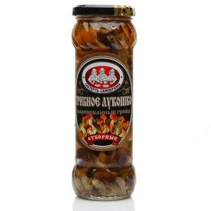 Грибное лукошко грибы отборные маринованные ТМ Скатерть-Самобранка