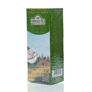 Чай зеленый байховый ТМ Ahmad Tea (Ахмад Ти), 25 пакетиков