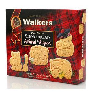 Песочное печенье ассорти  Animal Shapes ТМ Walkers (Уокерс)