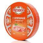 Сыр плавленый с ветчиной ТМ President (Президент) 45%
