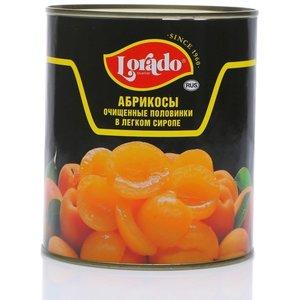Абрикосы очищ. половинки в легком сиропе ж/б ТМ Lorado (Лорадо)