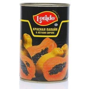 Папайя красная в легком сиропе ж/б ТМ Lorado (Лорадо)