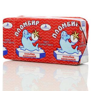 Мороженое пломбир ванильный ТМ Петрохолод