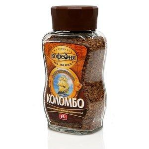 Кофе растворимый Коломбо ТМ Московская кофейня на паяхъ сублимированный
