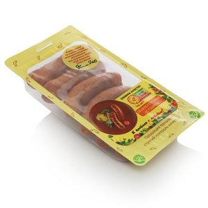 Колбаски полукопченые деликатесные с сыром ТМ Иней