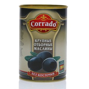 Маслины крупные отборные б/к ТМ Corrado (Коррадо)