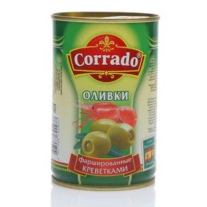 Оливки фаршированные креветками ТМ Corrado (Коррадо)