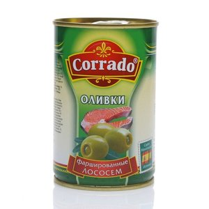 Оливки фаршированные лососем ТМ Corrado (Коррадо)