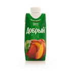 Нектар персиково-яблочный ТМ Добрый