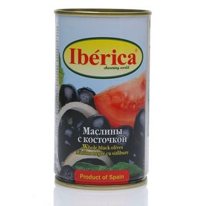 Маслины крупные с косточкой ТМ Iberica (Иберика)