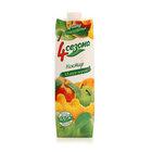 Сок яблочно-персиковый ТМ 4 сезона