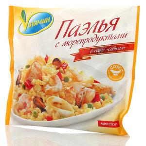 Паэлья с морепродуктами в соусе Севилья Vитамин (Витамин) ТМ Мираторг