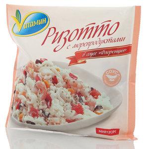 Ризотто с морепродуктами в соусе Флоренция Vитамин (Витамин) ТМ Мираторг