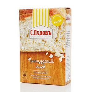 Готовая смесь Французский хлеб ТМ С.Пудовъ