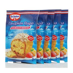 Сахарная пудра со вкусом ванили 5*80г ТМ Dr.Oetker (Доктор Оеткер)