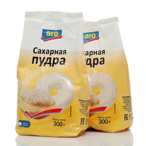 Сахарная пудра 2*300г ТМ Aro (Аро)