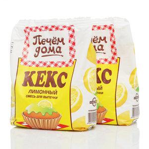 Смесь для выпечки Кекс лимонный ТМ Печем Дома, 2 шт