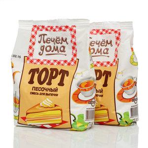Смесь для выпечки Торт песочный 2*400г ТМ Печем Дома
