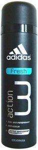 Дезодорант антиперспирант-спрей (без фреона) для мужчин ТМ Adidas (Адидас) action 3 fresh