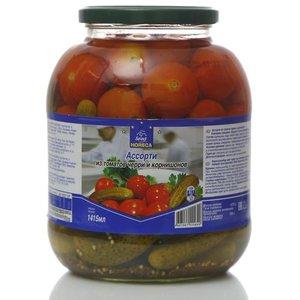 Ассорти из томатов черри и корнишонов ТМ Horeca Select (Хорека Селект)