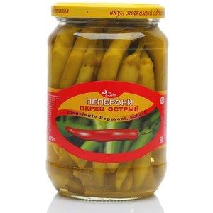 Пеперони перец острый консервированный ТМ Dim Komerc (Дим Комерц)