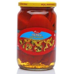 Перец печеный консервированный ТМ Dim Komerc (Дим Комерц)