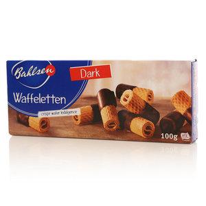 Вафельные трубочки в шоколаде Waffeletten ТМ Bahlsen (Балзен)