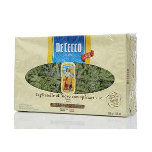 Макароны Тальателле яичные со шпинатом ТМ De Cecco (Дэ Кекко), 2*500г