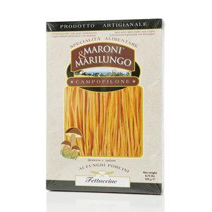 Макароны Фетучине деликатес с грибами ТМ Maroni & Marilungo (Марони & Марилунго)