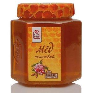 Мед натуральный цветочный акациевый ТМ Fine Food (Файн Фуд)