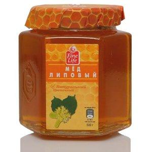 Мед натуральный цветочный липовый ТМ Fine Life (Файн Лайф)